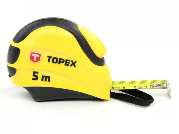 Рулетка с автостопом Topex 27С385