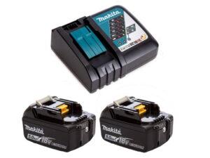 Комплект аккумуляторов Makita BL1850B 18В, 5.0Ач (2 шт.)