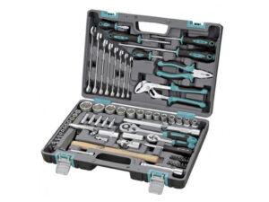 Набор инструментов для дома в чемодане STELS 14104