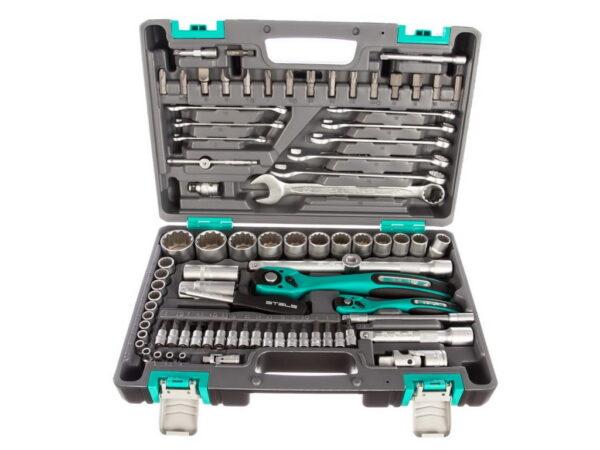 Набор инструментов 82 предмета STELS 14117