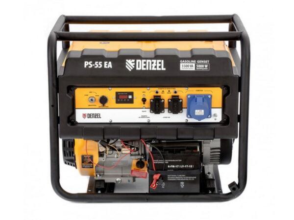 Электрогенератор бензиновый Denzel PS 55 EA