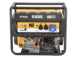 Электрогенератор бензиновый для дачи Denzel PS 70 EA