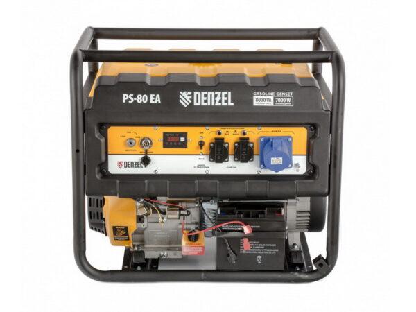 Электростанция бензиновая Denzel PS 80 EA