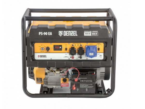 Генератор электрический бензиновый Denzel PS 90 EA