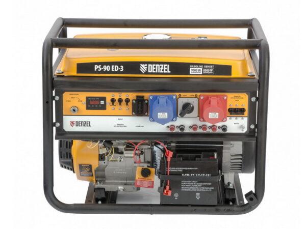 Электрический генератор Denzel PS 90 ED-3