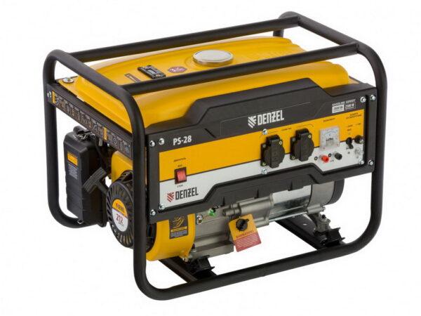 Бензиновый генератор для дачи Denzel PS 28