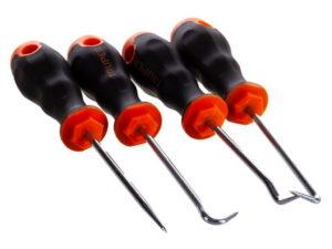 Набор инструментов 4 предмета с заостренным концом TRUPER GAN-4 14210