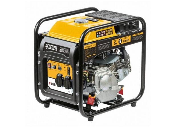 Электрогенератор инверторный бензиновый Denzel GT-2500iF