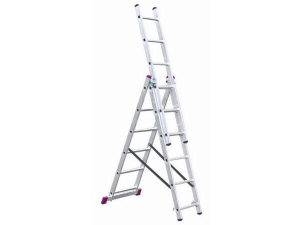 Лестница складная алюминиевая трансформер Krause Corda 3x6 010360