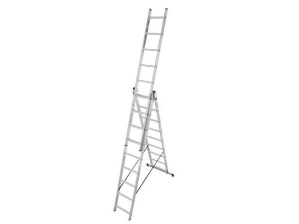 Лестница алюминиевая Krause Corda 3x9 010391