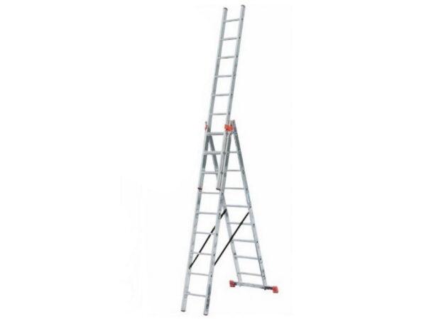 Лестница трансформер трехсекционная Krause MONTO TRIBILO 3х9 129673