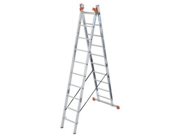 Лестница стремянка трехсекционная Krause MONTO TRIBILO 3х10 129680