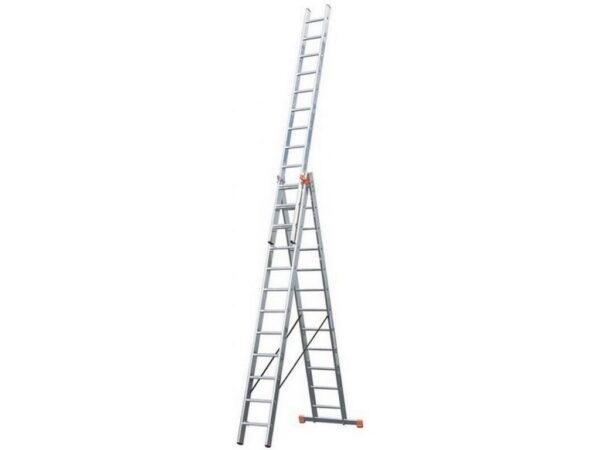 Лестница раскладная трехсекционная Krause TRIBILO 3х12 120953