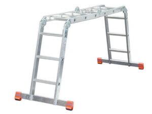 Шарнирная лестница трансформер Krause MONTO MULTIMATIC 4x3 120632
