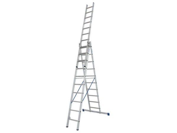 Лестница выдвижная трехсекционная Krause STABILO 3х10 133762