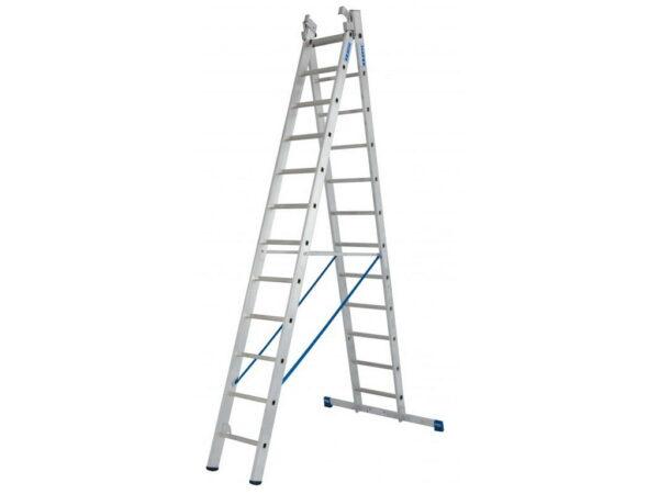 Лестница трансформер алюминиевая трехсекционная KRAUSE STABILO 3 х 12 133700