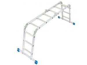 Четырехсекционная лестница трансформер Krause STABILO 4x3 123510