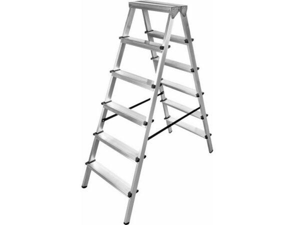 Лестница стремянка двухсекционная Gigant AS 206