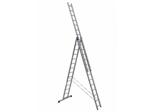 Телескопическая лестница Алюмет H3 5314 3x14
