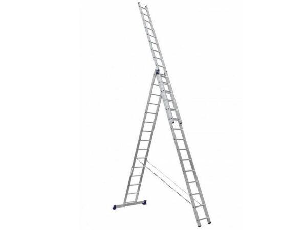 Лестница трехсекционная Алюмет HS3 6315 3x15