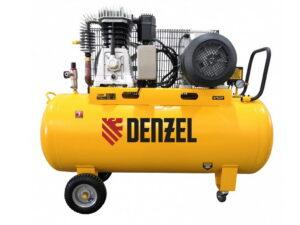 Компрессор воздушный электрический ременный Denzel BCI4000-T/200