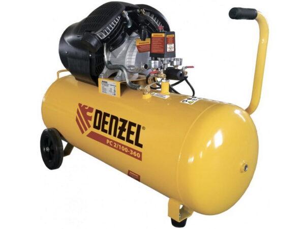 Компрессор воздушный масляный Denzel PC 2/100-360